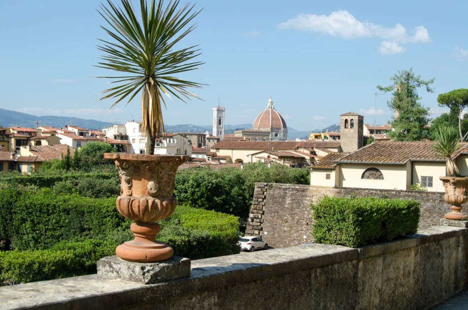Florence Boboli tuinen