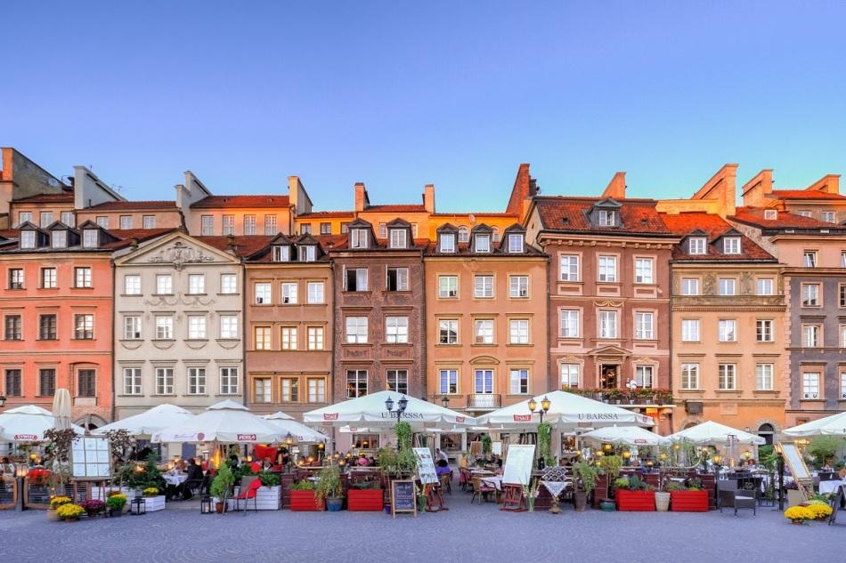warsaw goedkope stedentrip winter polen Warschau