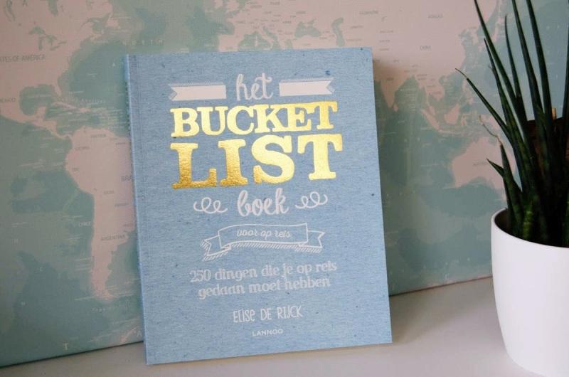 Bucketlist Boek voor reizigers winactie