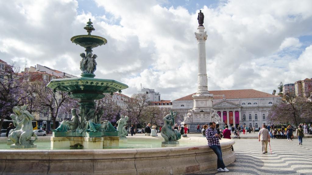 Rosario plein lissabon citytrip