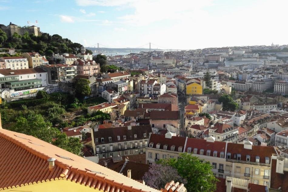 maand juni Lissabon